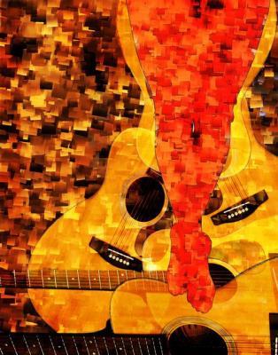 Cuando mi guitarra llora